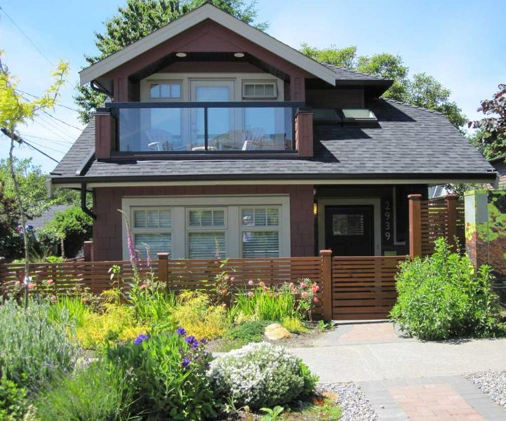 Street View of Carriage House - NEW Furnished 2 Bdrm Carriage House in Vancouver - Vancouver - rentals