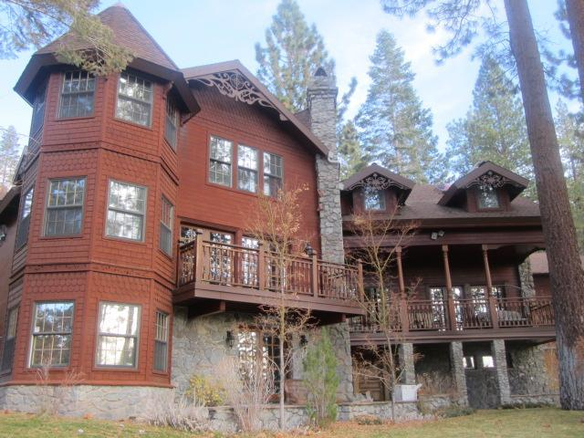 Front of the house - Luxury Lake Tahoe Retreat near Heavenly Ski Resort - Zephyr Cove - rentals