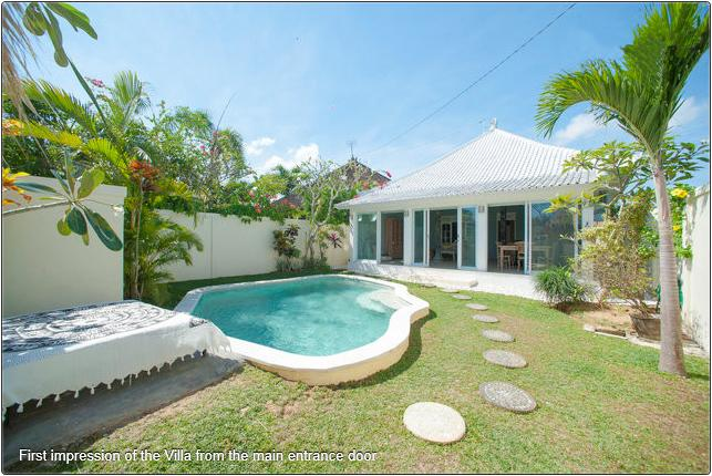 Unique New One Bedroom Villa with Pool in Seminyak - Image 1 - Seminyak - rentals