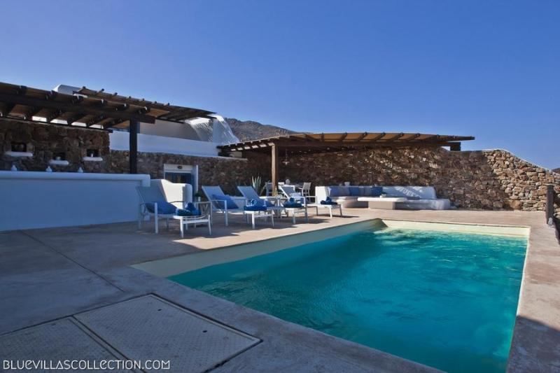 Family Pool Villa I - 200m from the beach - Image 1 - Mykonos - rentals