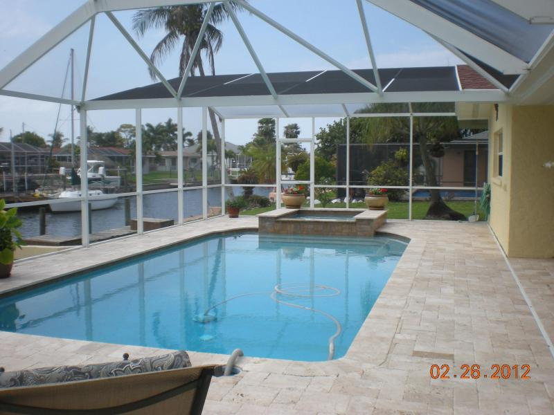 POOL AREA - GREAT PRICES..... GREAT WATERFRONT VIEW - Cape Coral - rentals