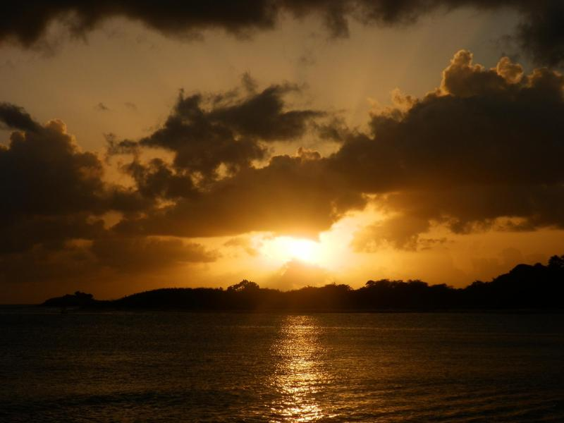 sunset - The Beach House at Top Bay Johnson's Point Antigua - Johnson's Point - rentals