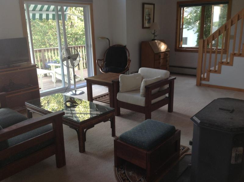 living room - Lake Champlain Deck House - Colchester - rentals
