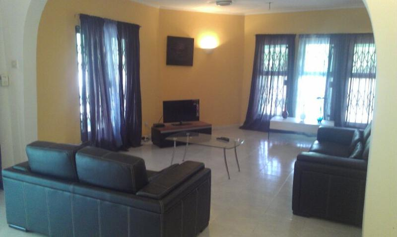 Spacious Lounge - Executive 4 bed 3 bath Holiday Villa, Accra Ghana - Accra - rentals
