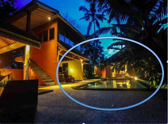 Exterior showing bungalow by the pool - Hideaway Ubud bungalow. Perfect for yogi couple - Ubud - rentals