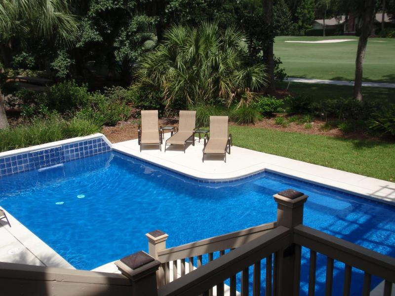 Large, sunny Pool - Low Country Paradise - Sea Pines - rentals