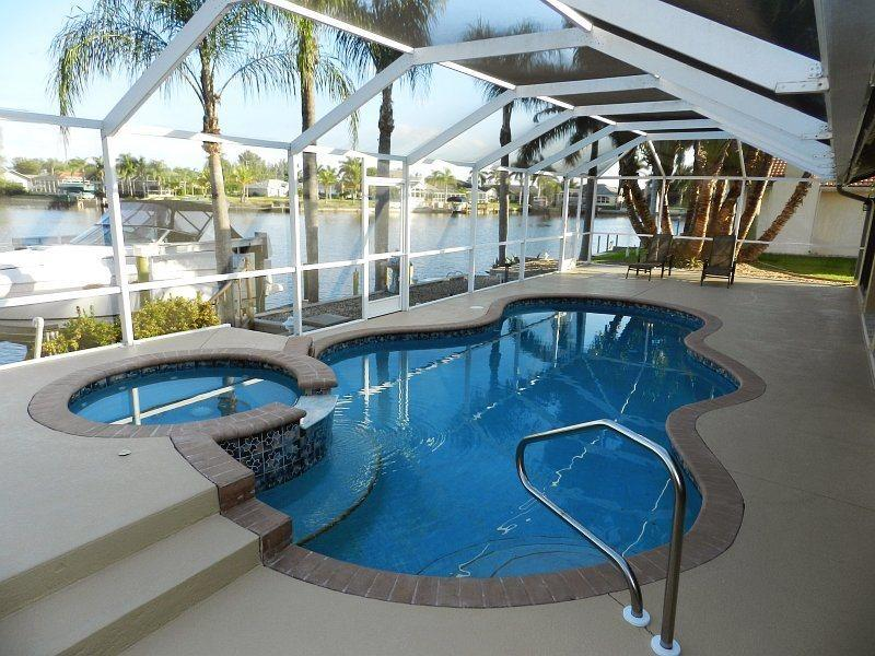 Key Largo - 3 Bedrooms, Heated Pool and Spa, Gulf Access, Wifi HS - Remodeled 2012 - Image 1 - Fort Myers - rentals