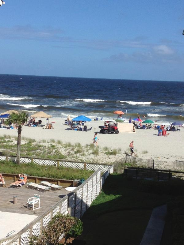 Great ocean view! - MYRTLE BEACH, OCEAN FRONT VILLA/OCEAN VIEW UNIT - Myrtle Beach - rentals