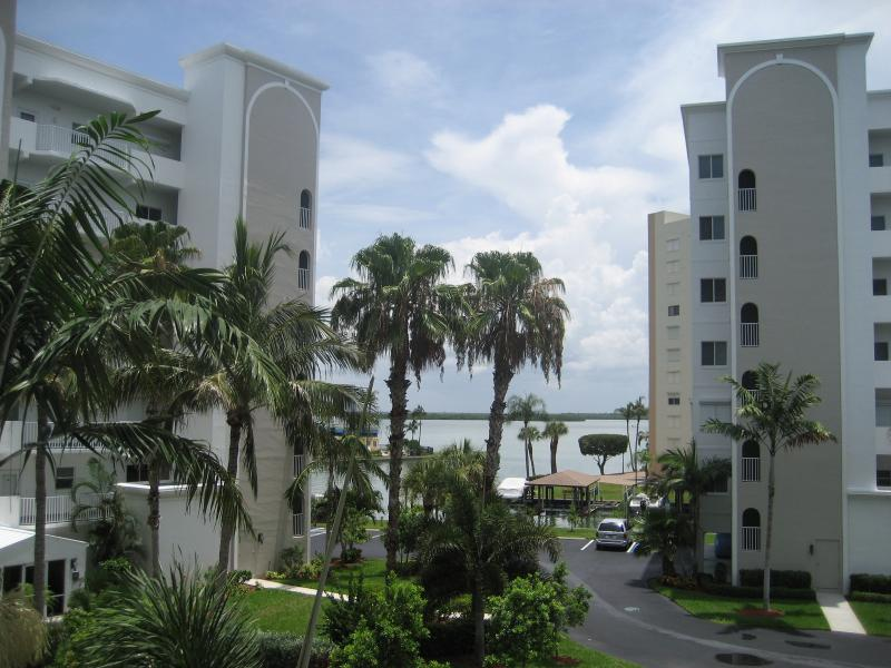 View from the kitchen window - Casa Marina Newly Updated Condo - Fort Myers Beach - rentals