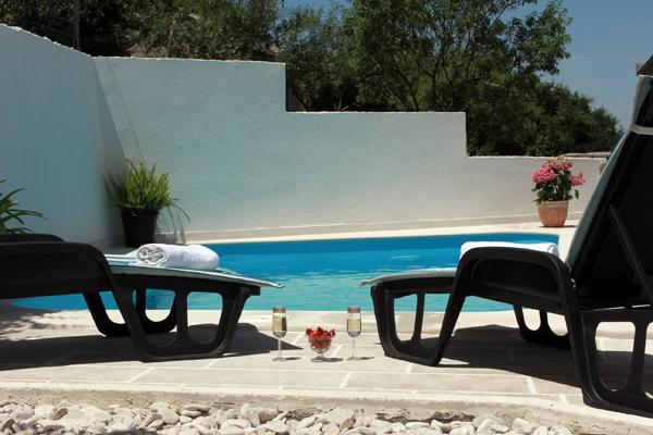 Swimming Pool - Apartment Andrijan - Nerezisca - rentals