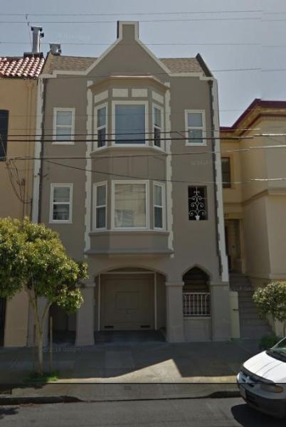 Front of apartment - Large Sea Cliff Apartment blocks from the SF sites - San Francisco - rentals