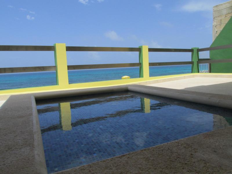 Caribbean Front Dipping pool - 2 bedroom Amazing Location in the Heart of Isla! - Isla Mujeres - rentals