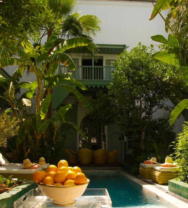 Patio and Pool area - Stylish and cosy 6 bedroom Riad in Marrakech - Marrakech - rentals