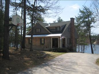 Gorgeous Exterior - HUGE waterfront home with beach, dock & internet! 79360 - Freedom - rentals