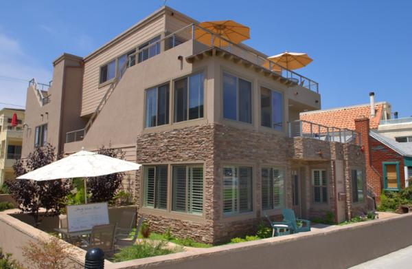 outside view of condo - 3648 Bayside Walk - San Diego - rentals