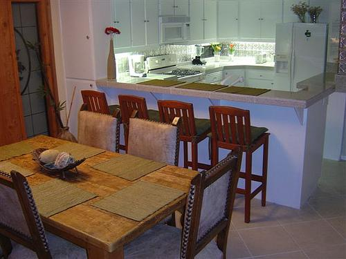 dining room with kitchen view - 4111 Bayard Street #A - San Diego - rentals