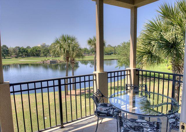 Balcony Overlooking Lake - Beautiful Lake Views and Free Shuttle Service!! - Sandestin - rentals