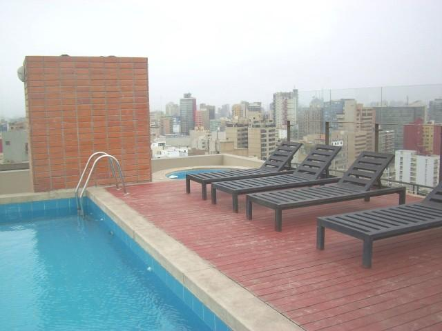 Swimming-pool - Beautiful Ocean and City View in Miraflores. Watch Video! - Miraflores - rentals