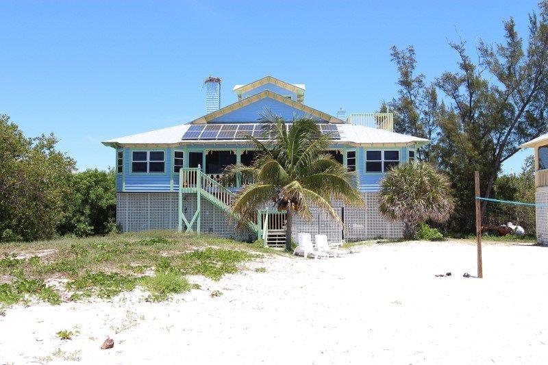 Villa viewed from the beach - Villa Katie I - North Captiva Island - rentals