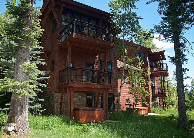 Ski in and out from this private community at the base of Jackson Hole! - Image 1 - Teton Village - rentals