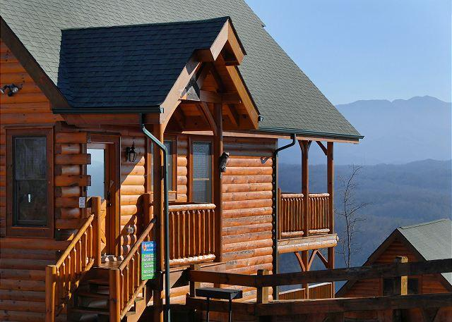TENNESSEE TREASURE #232- View of the Cabin - Pigeon Forge resort cabin TENNESSEE TREASURE 232 - Sevierville - rentals