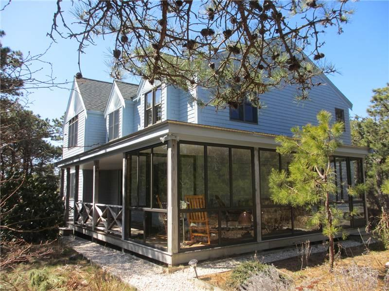 Lovely home w/rooftop bayview! - WJFAY - Image 1 - Truro - rentals