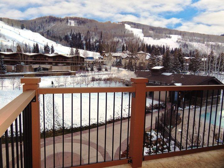 Private Deck with Views of Golden Peak and Vail Mountain - Manor Vail 2 Bedroom Penthouse 378: Book Now-Sept 21 Save up to 33% - Vail - rentals