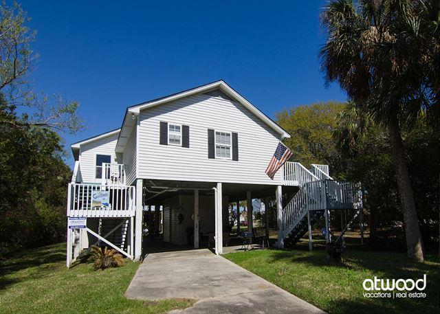 Gaillardia - Third Row Updated Home, Ocean View - Image 1 - Edisto Beach - rentals