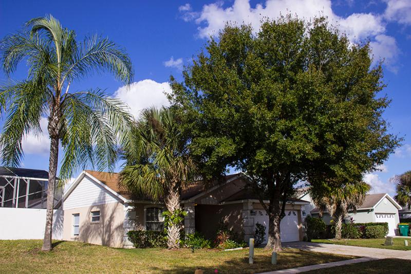 Front of home - Pet friendly kissimmee Disney vacation home hotel - Four Corners - rentals