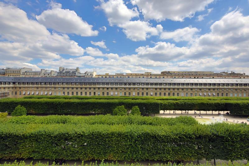 View from the Balcony - Palais Royal Luxury Duplex (Balcony and Terrace) - 1st Arrondissement Louvre - rentals