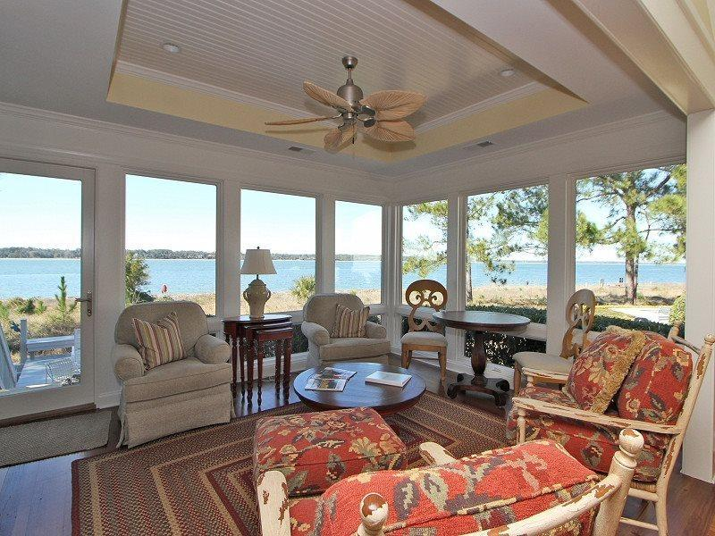 Beautiful Sun Room with Ocean Views at 7 Lands End Way - 7 Lands End Way - Hilton Head - rentals