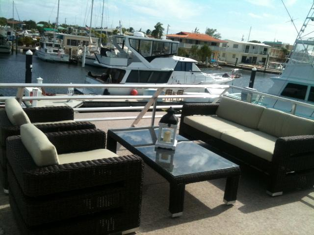 Rooftop  - 3 Bedroom Brand New Houseboat at the Pilot House Marina and Restaurant - Key Largo - rentals