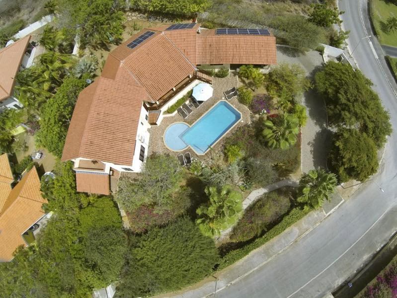 Luxury tropical villa with private pool and large garden in the Jan Thiel area. - Villa Carpe Diem Curacao - Curacao - rentals