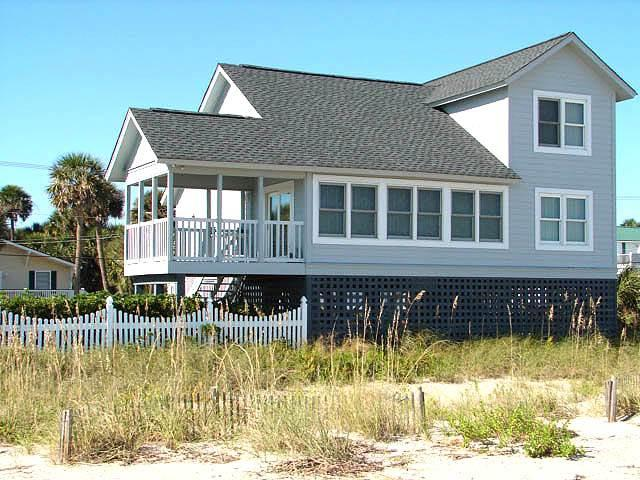"604 Palmetto Blvd. - ""Blue Heaven"" - Image 1 - Edisto Beach - rentals"