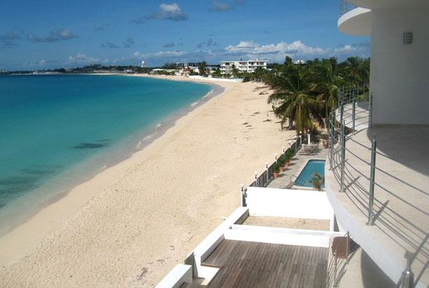 St. Martin Villa 183 This Spacious One Bedroom Penthouse Suite Is The Ideal Property For A Romantic Getaway. - Image 1 - Simpson Bay - rentals