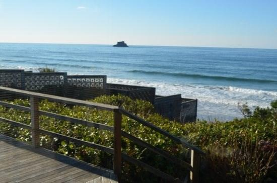 Falcon Getaway a 2 bedroom 2 bath Ocean front Arch Cape home - Image 1 - Cannon Beach - rentals
