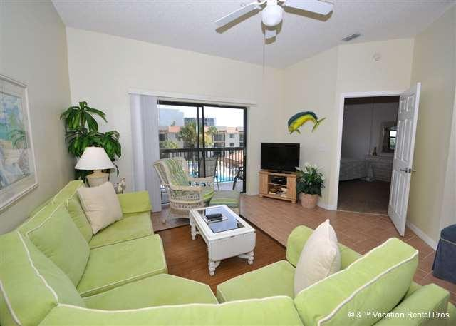 Glance out of any window for ocean views! - Ocean Village Q37, 3rd Floor, Elevator, Wifi, Ocean Views - Saint Augustine - rentals