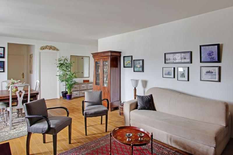Living room - Luxury One Bedroom Paris Marais Place des Vosges - 4th Arrondissement Hôtel-de-Ville - rentals