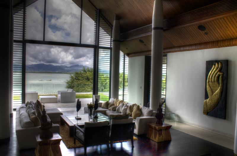 The Atrium can house anything from a quiet relaxation to a wedding. - The Fourth Villa at Cape Yamu - Thalang - rentals
