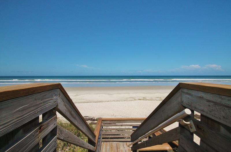 Stairs to Paradise! - Enjoy Amazing Ocean Views at Silver Sands 207 - New Smyrna Beach - rentals