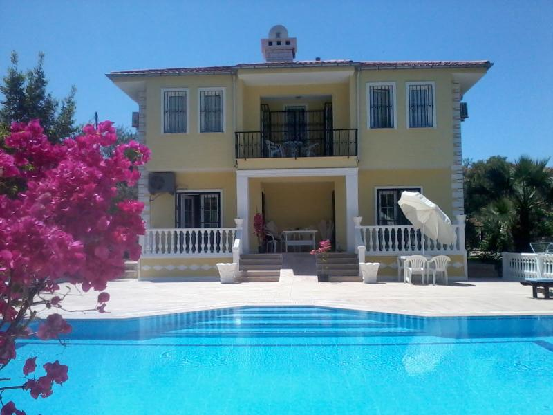 Villa Dessanelle with private pool and flower garden, quietely located at end of blind alley - Image 1 - Oludeniz - rentals