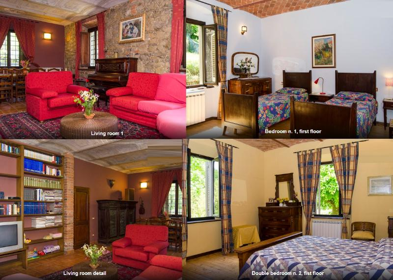 Rooms - For Tuscany's lovers...  house dated 1864, garden - Pistoia - rentals