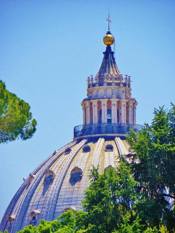 ST. PETER'S - view from the floor - Roma Style - VATICAN MUSEUM & ST.PETER 300mt - Rome - rentals