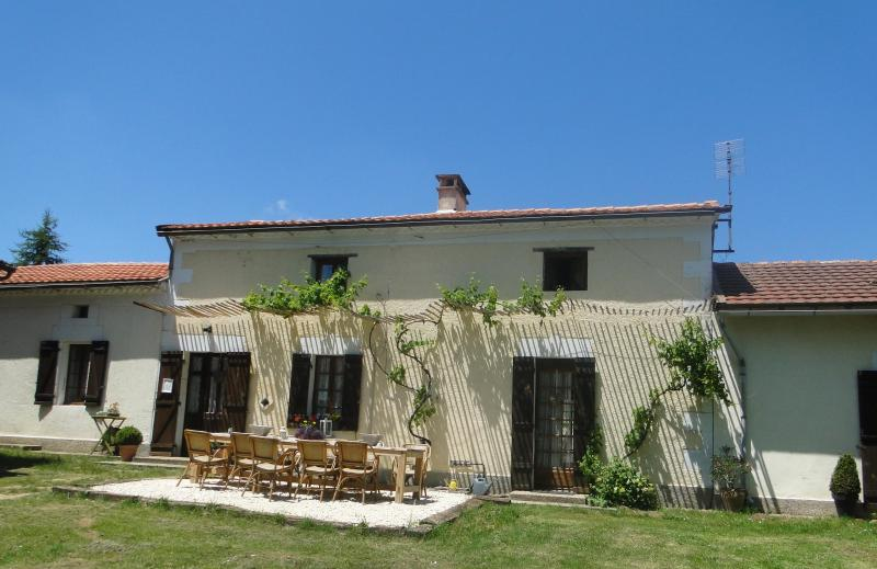 Welcome to Domaine les Roussilloux! - restored farmhouse with big pool between Bergerac&Sarlat - Jaure - rentals