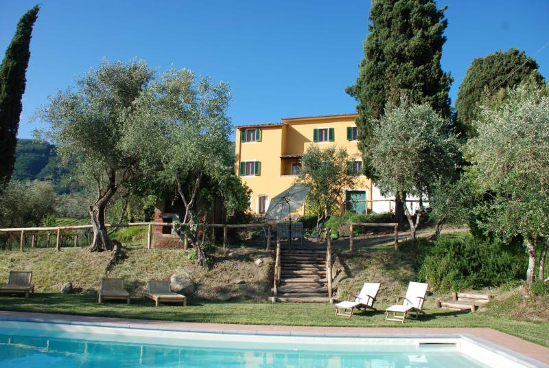 Casa Collina Verde - Tuscany holiday rental near Lucca with private pool - Lucca - rentals