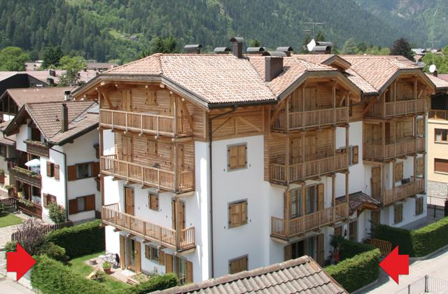 Bright Apartment with private garden - apt n.1 - Image 1 - Pinzolo - rentals