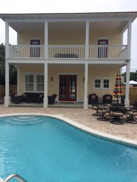 Private Pool - New 2014 Beach House Private Pool Basketball Court - Destin - rentals