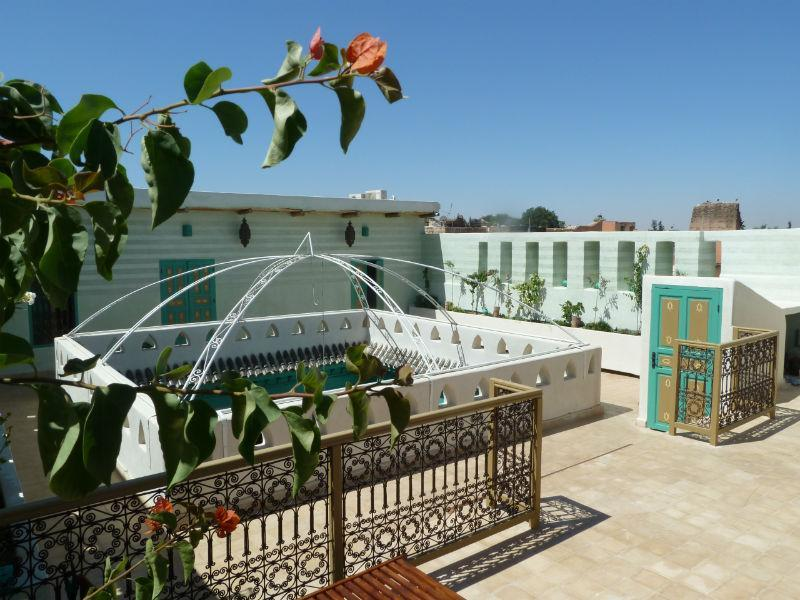 Terrace - Gorgeous Riad - Private Rental - 7 bedrooms - Marrakech - rentals