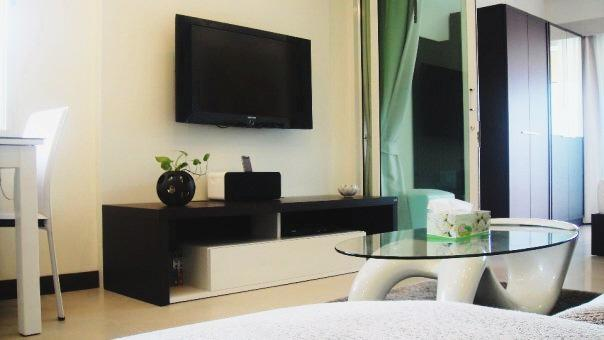 42 inch flat-screen TV - Stylish Condo In Centre Of Samui Only 16k Thb Per/month! - Sao Hai - rentals