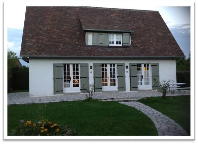 Outside - Beautiful home in Deuville France close to sea - Deauville - rentals